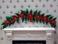WH-FL75 (Poinsettia) Kerstster decoratie