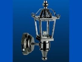WH-SBLED295 Zwarte koetslamp