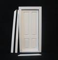 VM-23647 Binnendeur 4-vaks wit