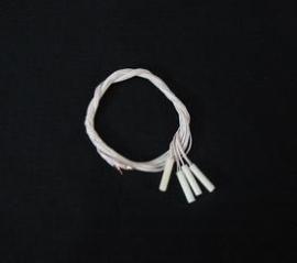 VM-FA19037 Bi-pin kaarshouder (Candle Body) per 4 stuks