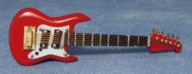 SAD-9/155 Electrische Gitaar Rood