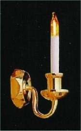 SAD-DE089 Luxe wandlamp enkele kaars