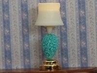 WH-SBLED327 Blauwe romp tafellamp