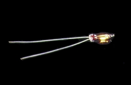 CK1010-12 12V Kaarslampje met Draadeinde