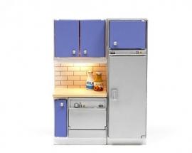 LY2031 Keukenblok met vaatwasmachine en koelkast