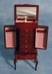 SAD-DF409 Juwelen kabinet (mahonie)