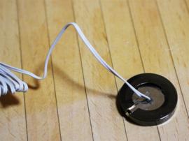 WH-EL353C Zwarte Chrome Plug voor LED verlichting
