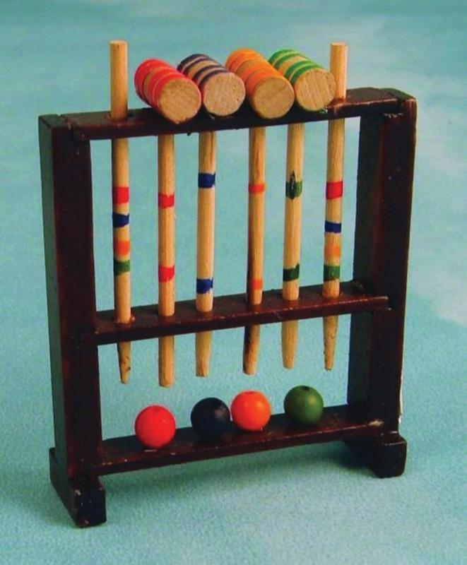 SAD-D1171 Croquet Set