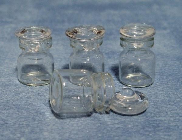 SAD-D1265 Set van 4 Glazen Voorraadpotten