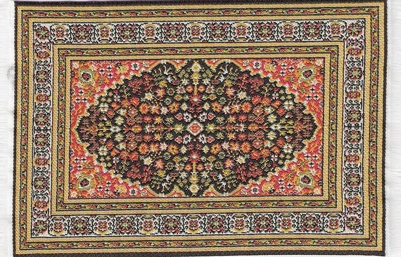 SAD-D698C Turks tapijt groen 10 x 14cm