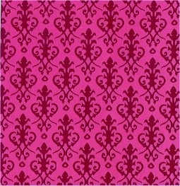 SAD-DIY280RR Behang (Victorian Red/Red)