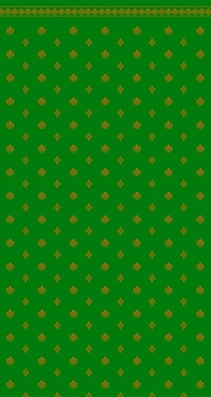 SAD-DIY076C Behang    (Garden Crest Green & Ivory)