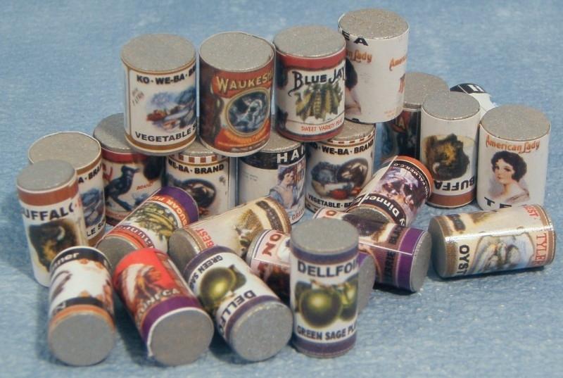 SAD-D501 Set van 24 Blikken