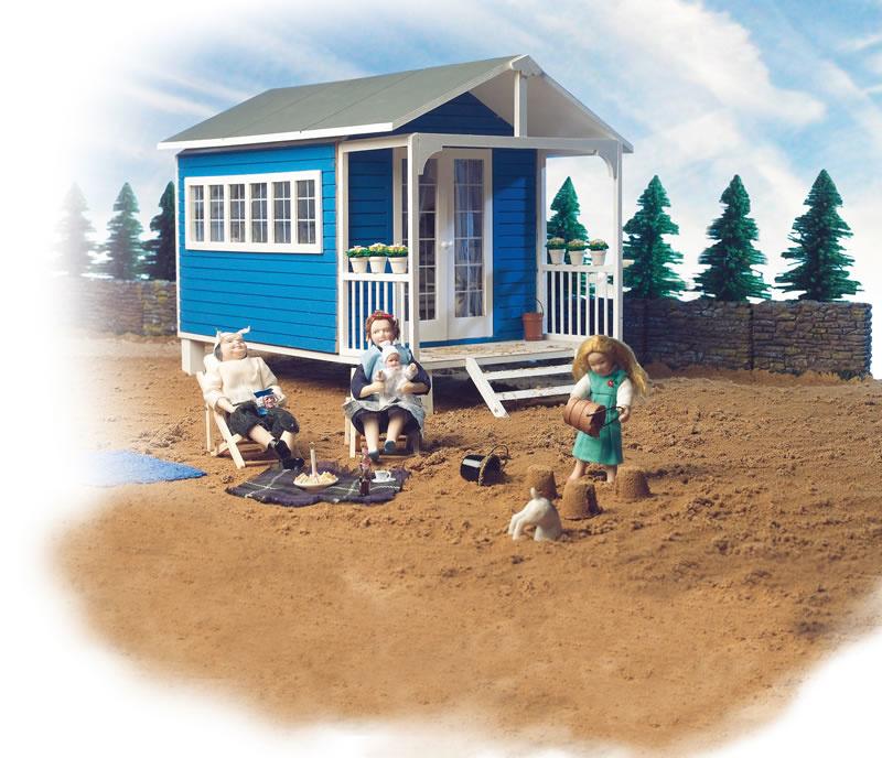 DHE 1300 - The Summer House - bouwpakket in schaal 1:12