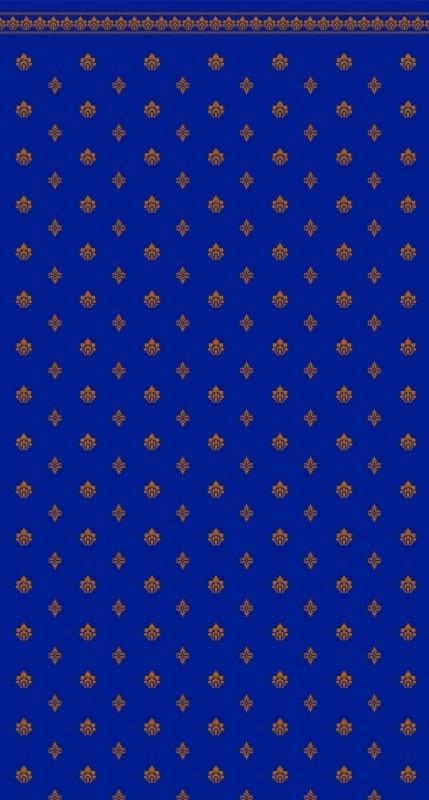 SAD-DIY076B Behang    (Garden Crest Blue)