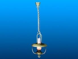 VM-FA15045 Hangende olielamp - brons