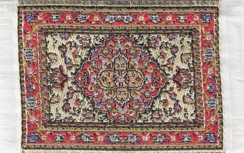 SAD-D697D Turks tapijt maroon 5 x 7cm