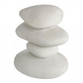 Zen Pebbles Wit