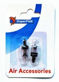 Superfish lucht terugslagventiel, 2 stuks