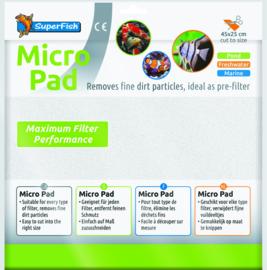 Superfish Filtermat Micro fijn, wit