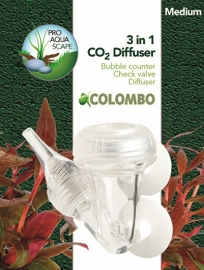 Colombo 3 in 1 CO2 diffuser, medium