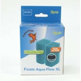 Aqua flow XL easy spons, 2 stuks