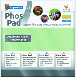 Superfish Filtermat Fosfaat