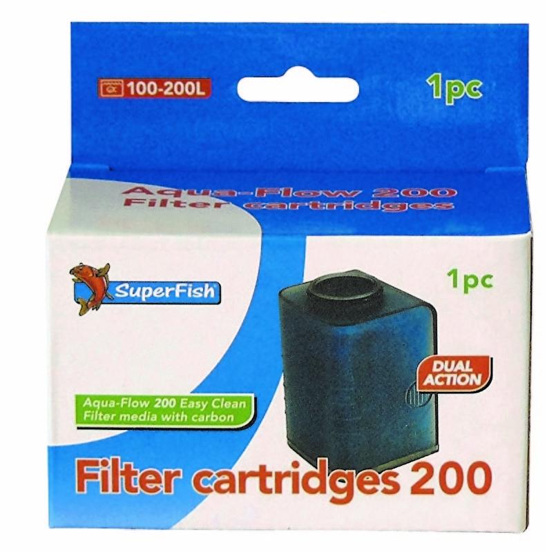 Aqua flow 200 easy click cassette, 1 stuk