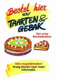 Bestel hier uw Taart en Gebak