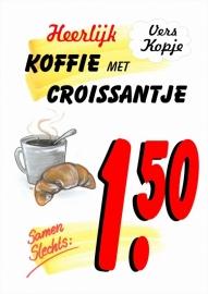 Koffie met Croissantje