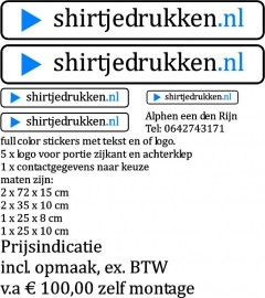 Reclame-stickers