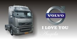 VOLVO I love you (met naam)