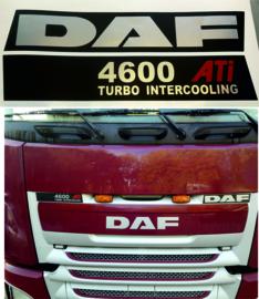 Sticker set voor voorkant DAF  FX