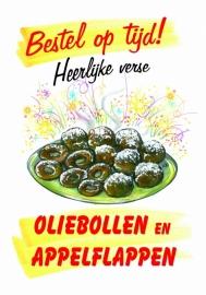 Oliebollen en Appelflappen
