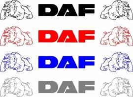 DAF Bull raamsticker