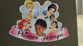Kinderkamersticker meisje prinsses