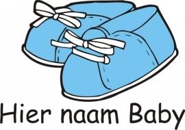 Geboorte blauw