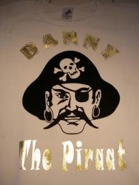 Piraten shirt (met naam)