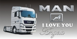 MAN I love you (met naam)