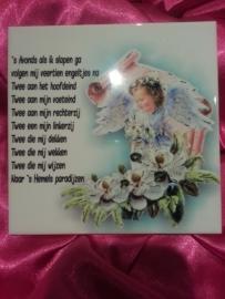 Geboortetegel 12 engeltjes