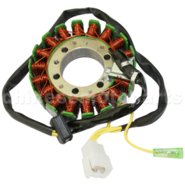 Stator (ontstekingspoel) Voor alle CF 250cc motorblokken (cf 172mm)