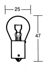 Lamp, wordt voor meerdere doeleinden gebruikt.