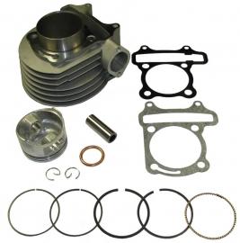 Cilinder BR150cc imitatie,compleet met kop en pakkingen