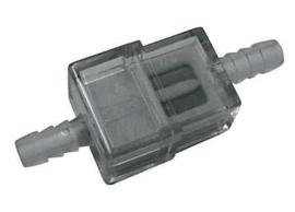 Benzinefilter, vlak model past gewoon op de PGO/Shark/kinroud en andere buggy's
