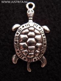 mb007 metalen bedel schildpad