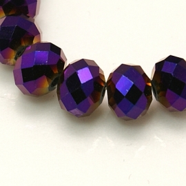 Rondellen 3 x 4 mm Purple