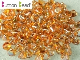 Button Bead® 4mm Crystal Apricot Medium (per 22)