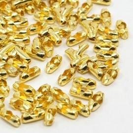 ball chain connector goudkleur