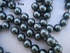 "5810  Swarovski Crystal Pearl ""Tahitian look""  6mm"