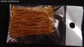 Nietstiften goudkleur per 20 gram